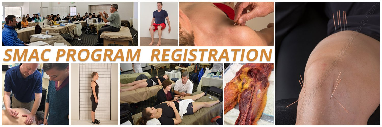 AcuSport Education's Sports Medicine Acupuncture Certification (SMAC) Program Registration | SportsMedicineAcupuncture.com