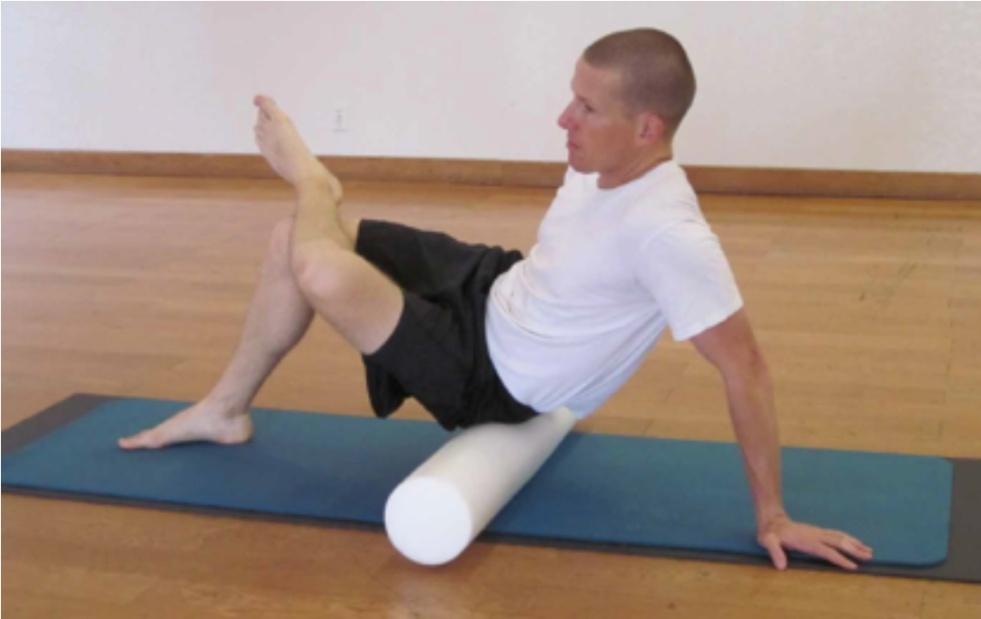 Telemedicine Guide: A Low Back Pain Case Study — Hip Abductor with Foam Roller Exercise | SPORTSMEDICINEACUPUNCTURE.COM