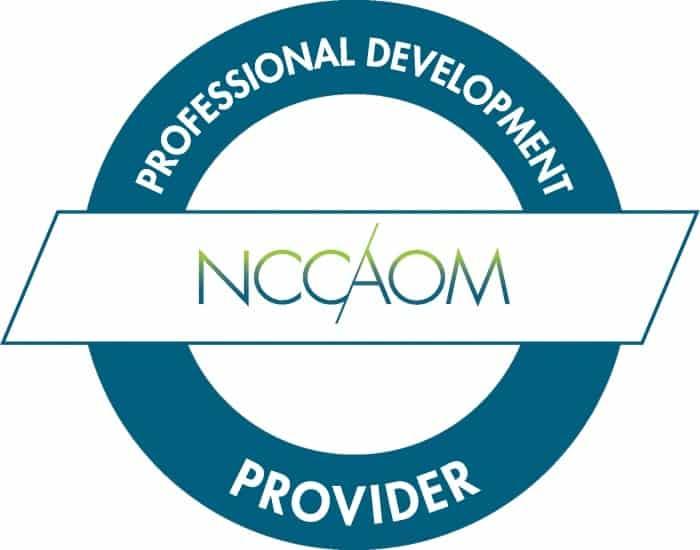 NCCAOM Provider Badge | SPORTSMEDICINEACUPUNCTURE.COM
